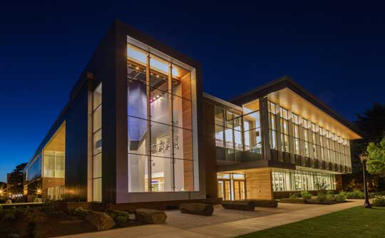 University of Portland Beauchamp Recreation and Wellness Center