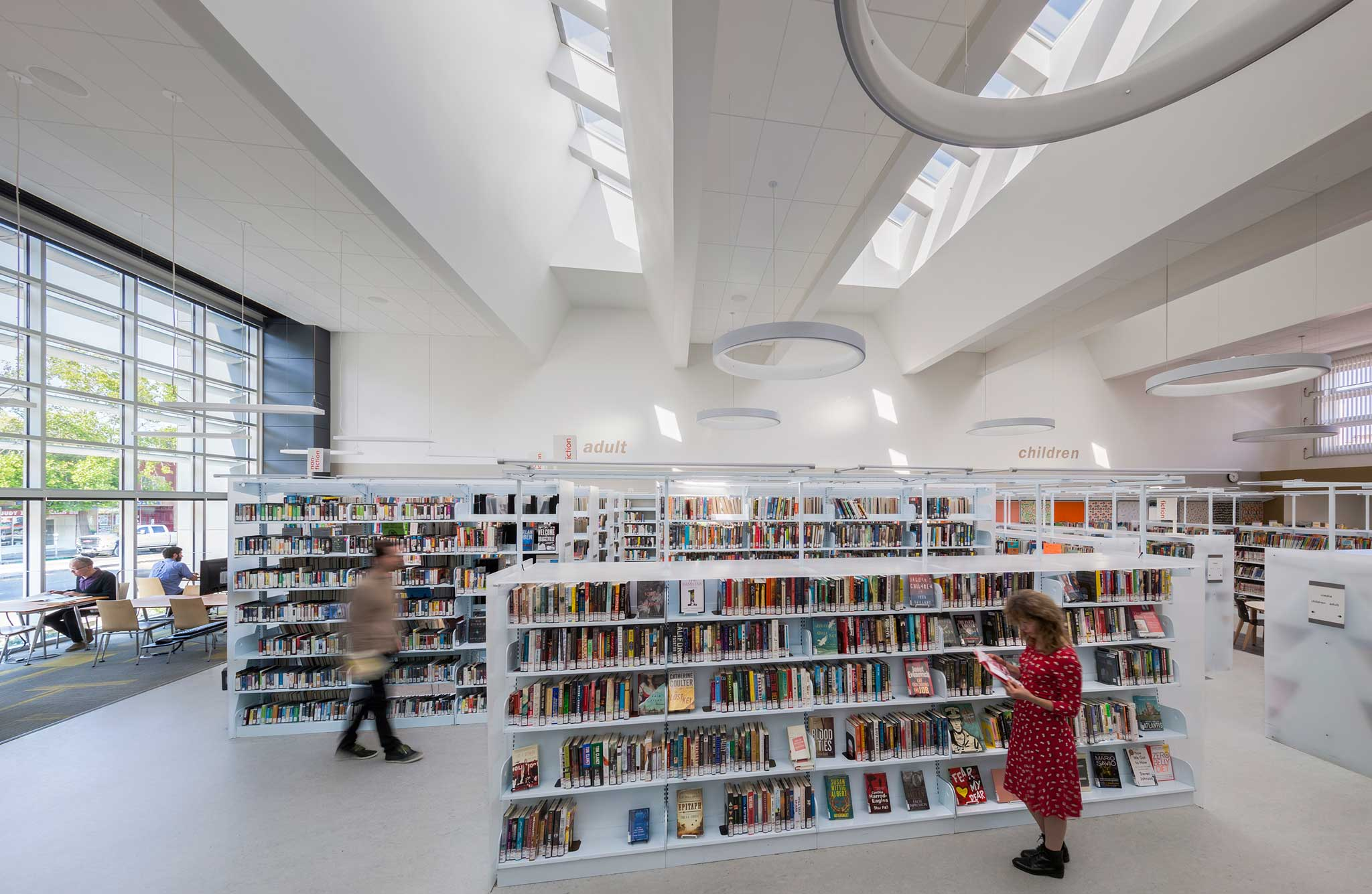 Library Interior Daylighting