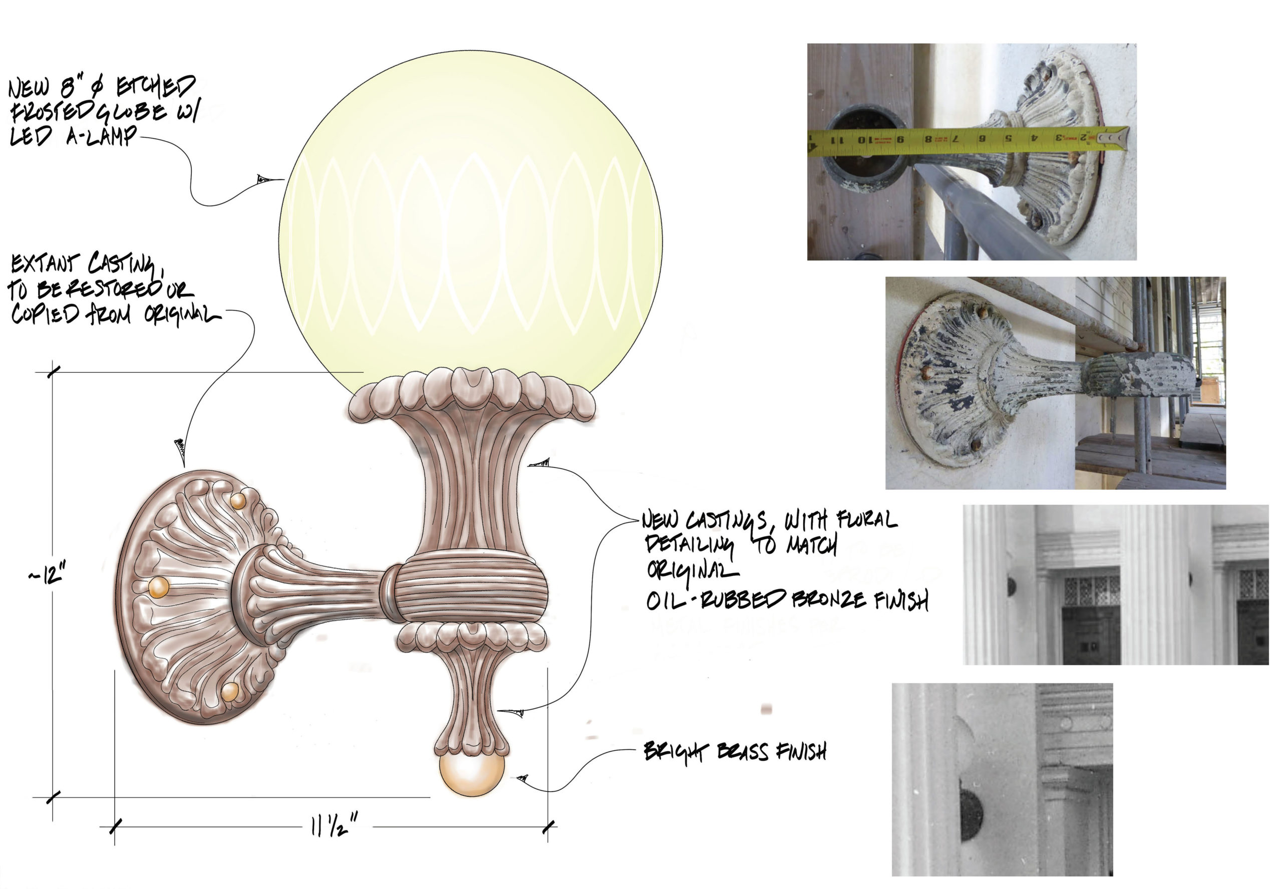 Custom Fixture Historical Reproduction